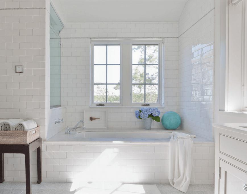 Subway Tile Bath