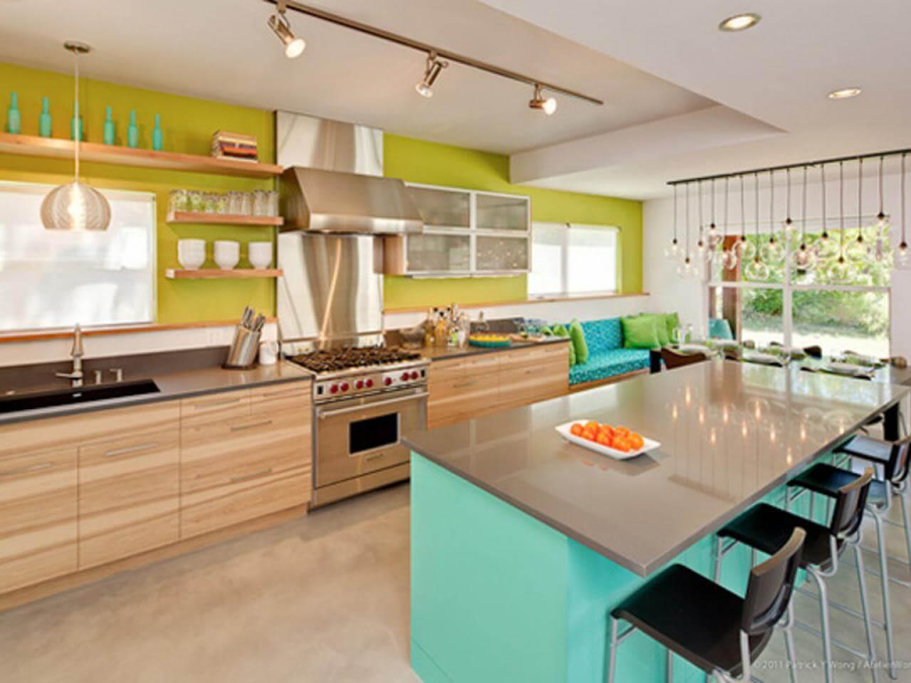 Kitchen ceiling paint ideas