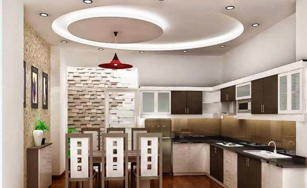 ceiling design for kitchen