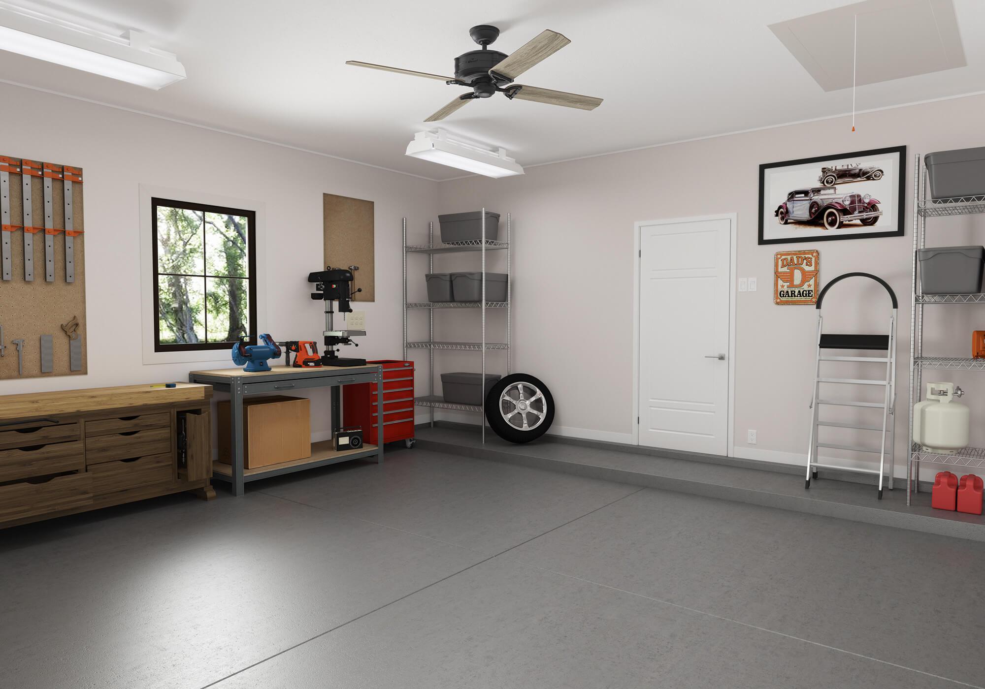 cheap garage ceiling ideas