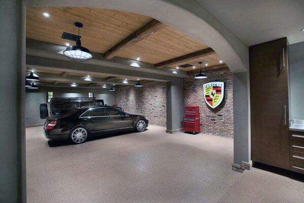 finish garage walls ideas