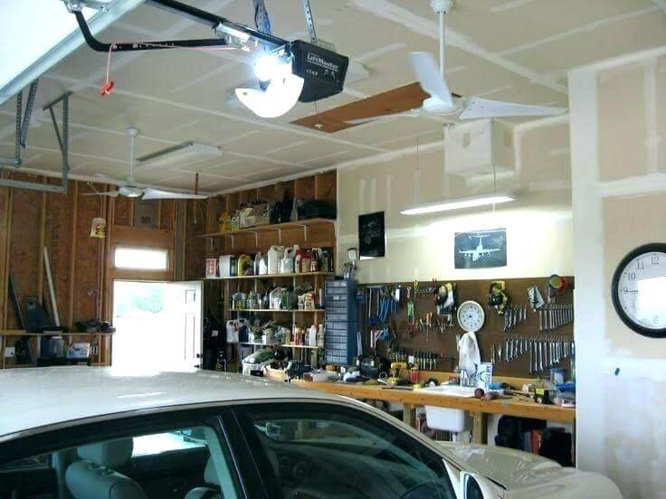 garage ceiling drywall alternative