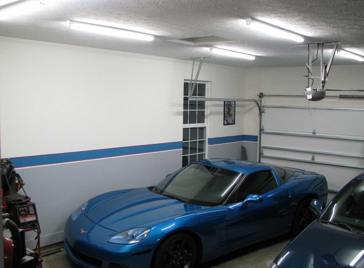 garage ceiling ideas drywall plywood