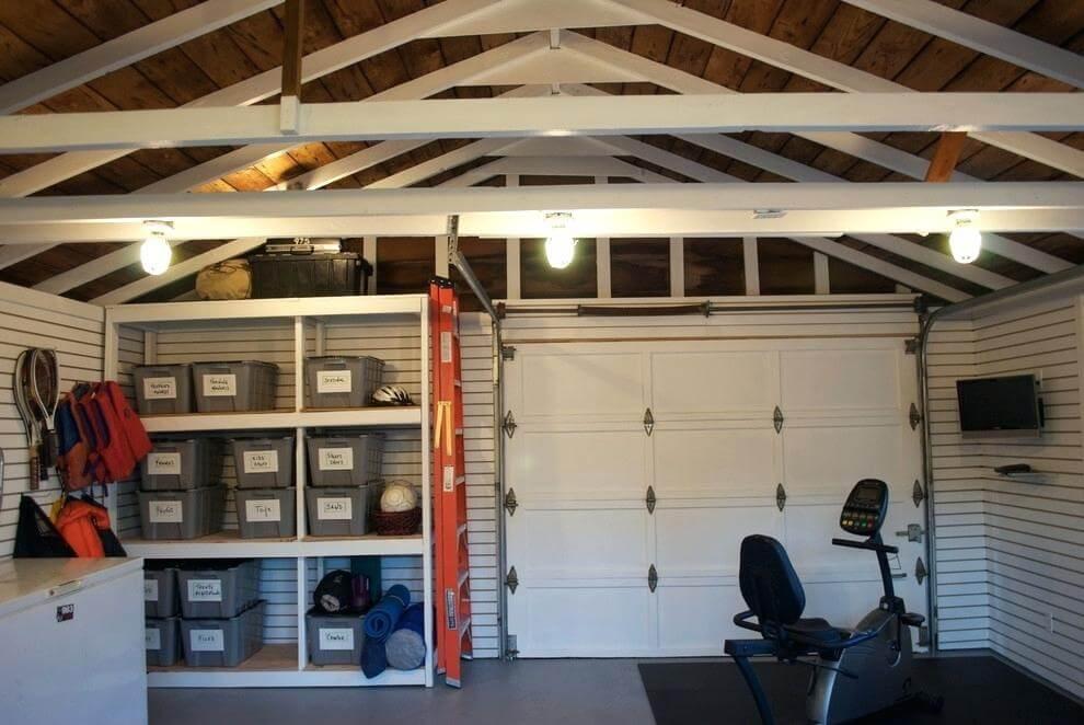 man cave garage ceiling ideas