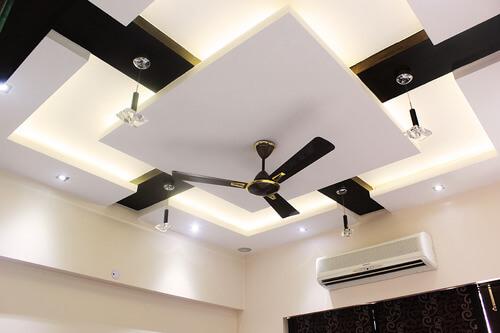 modern ceiling design for living room 2019