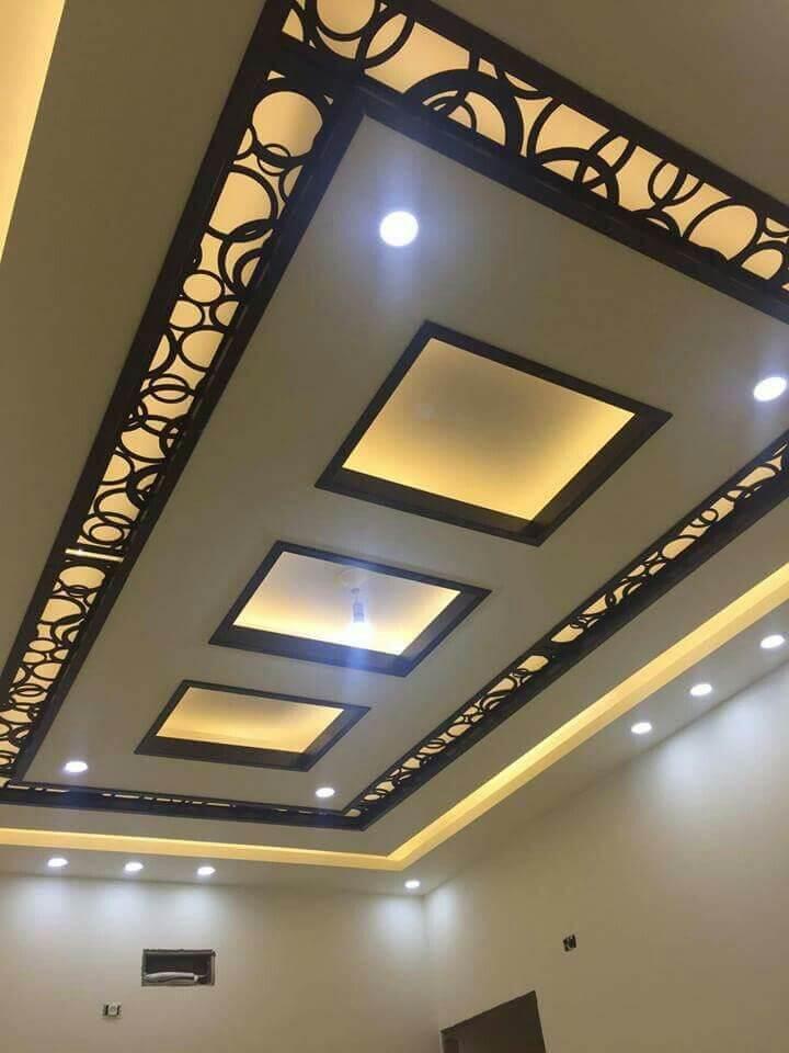 modern ceiling design for living room 2020