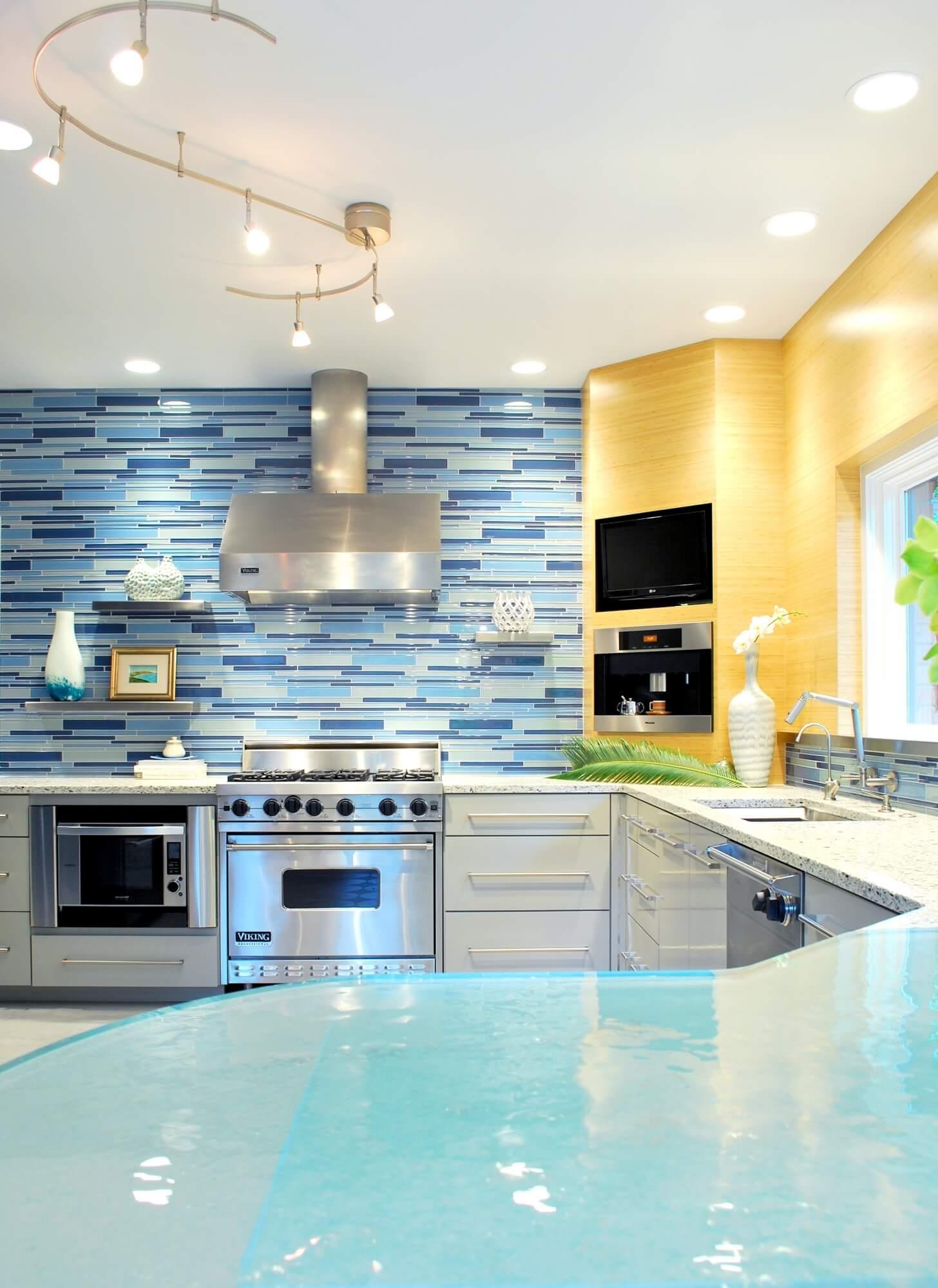 open kitchen ceiling design