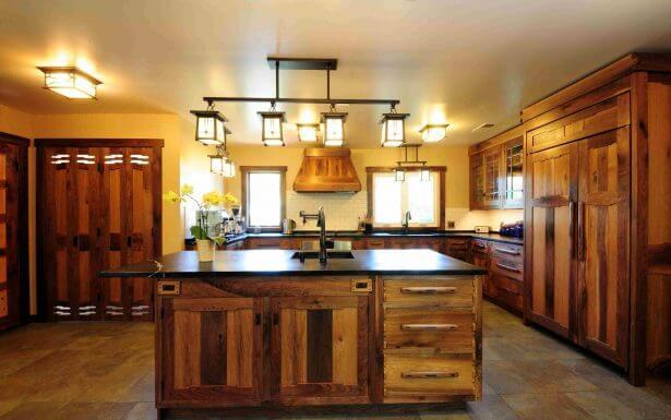 rustic wood ceiling ideas