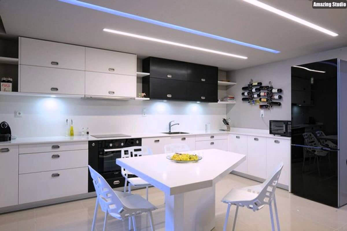 7 Best Modern Ceiling Design Ideas for Kitchen 7 - Home Decor