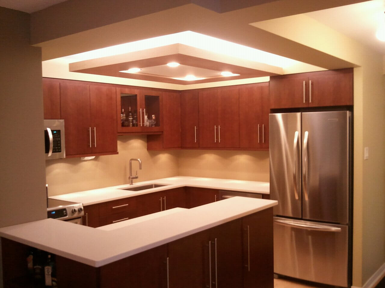 small kitchen ceiling design