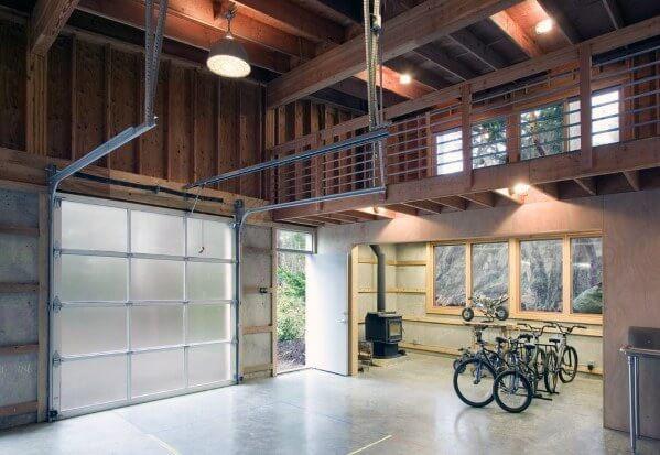 unfinshed garage ceiling ideas