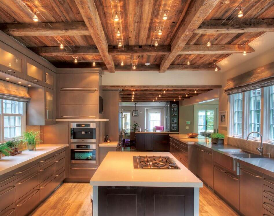 white wood ceiling ideas