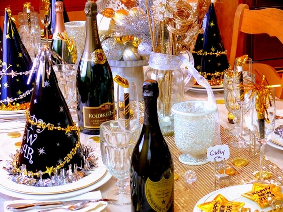 New Year's Eve Table ideas at home