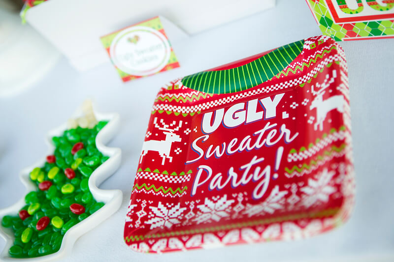 Ugly Christmas Sweater Party Decoration Ideas 2019