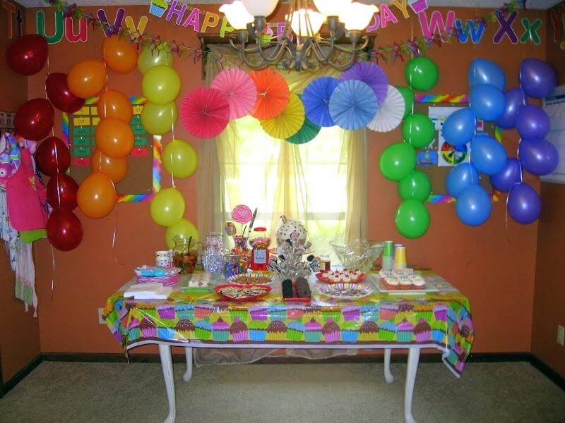 balloon decoration images for birthday