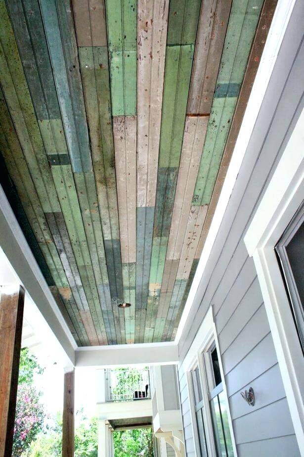 beadboard ceiling porch