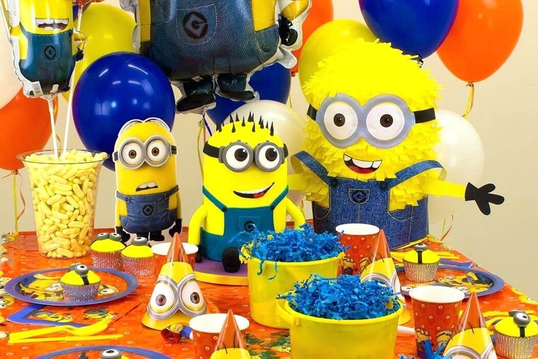 birthday decoration ideas for boy