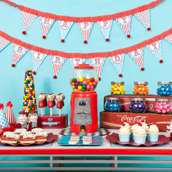 birthday party decoration ideas at home