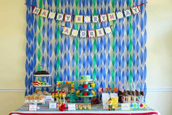 birthday room decoration ideas at home