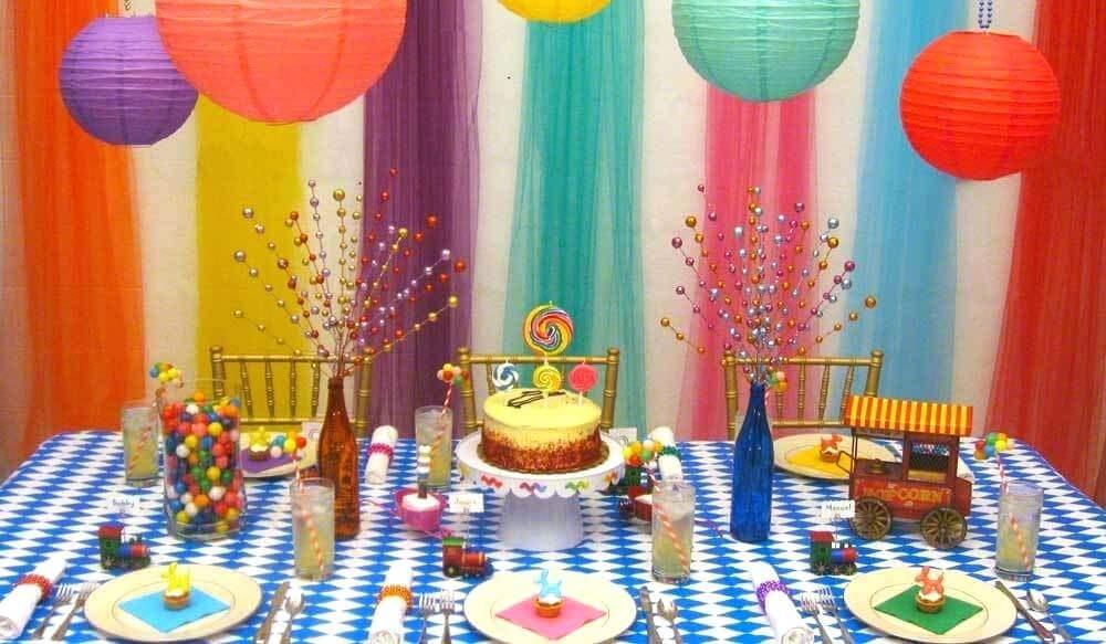birthday wall decoration ideas at home