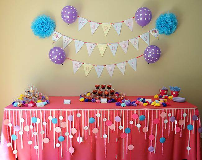 cheap party decoration ideas for kids
