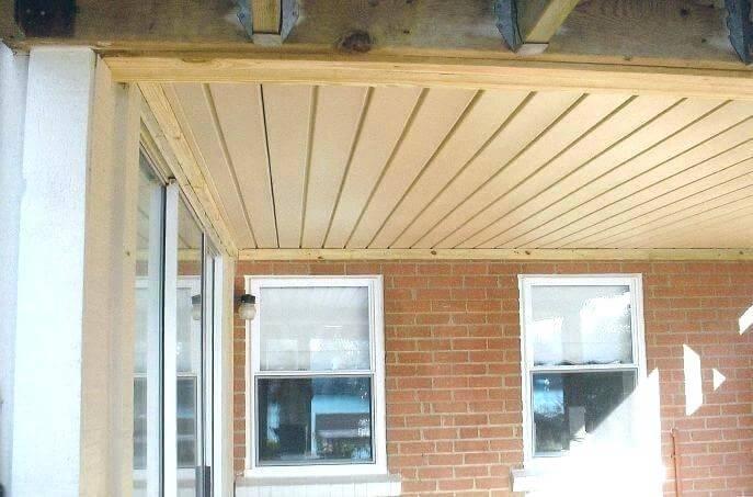 cheap porch ceiling