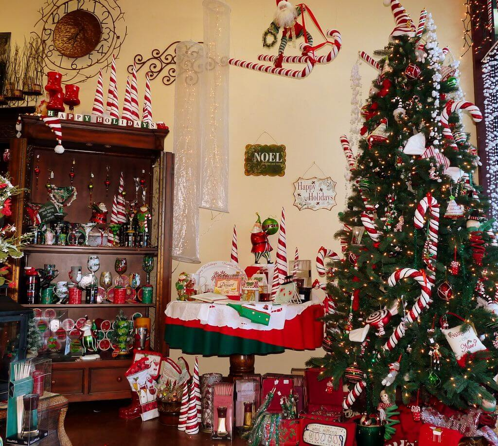 classy indoor christmas decoration ideas