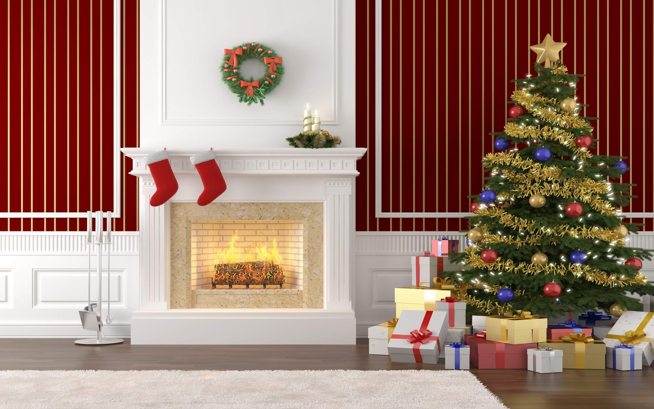 cool christmas decor ideas inside house
