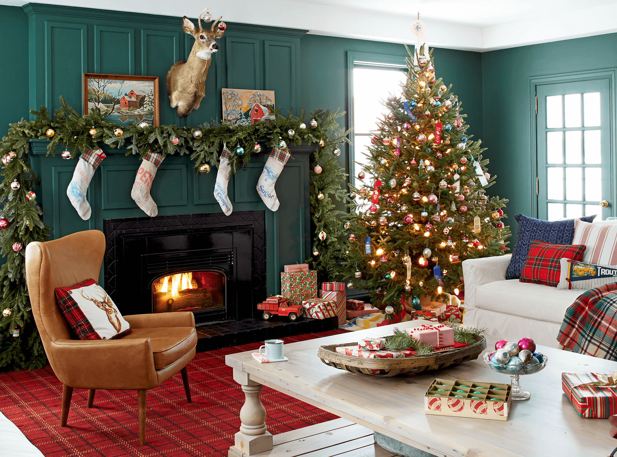 cool interior christmas decoration ideas