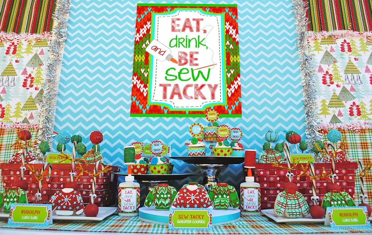diy christmas sweaters decor for home