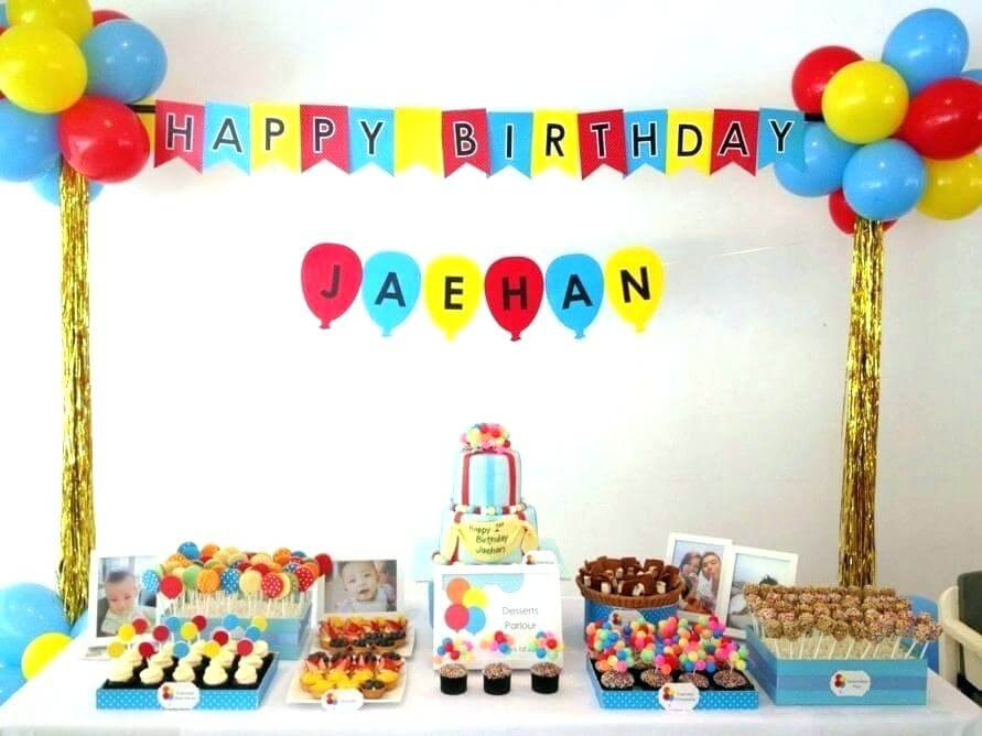 easy birthday decorations to make at home