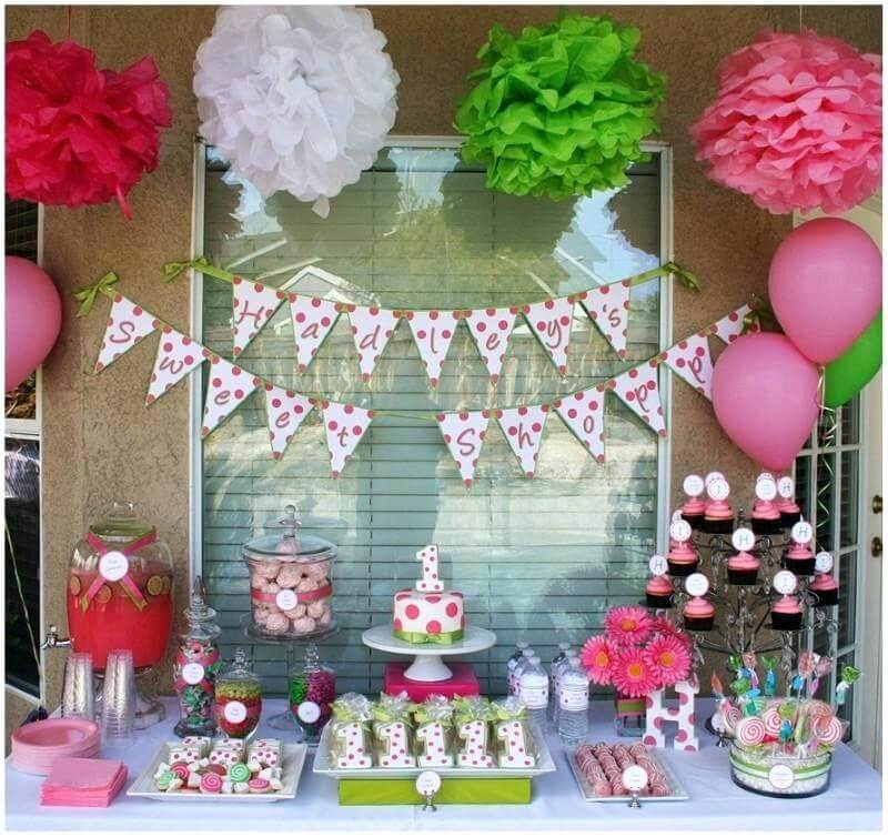 homemade birthday party decorations