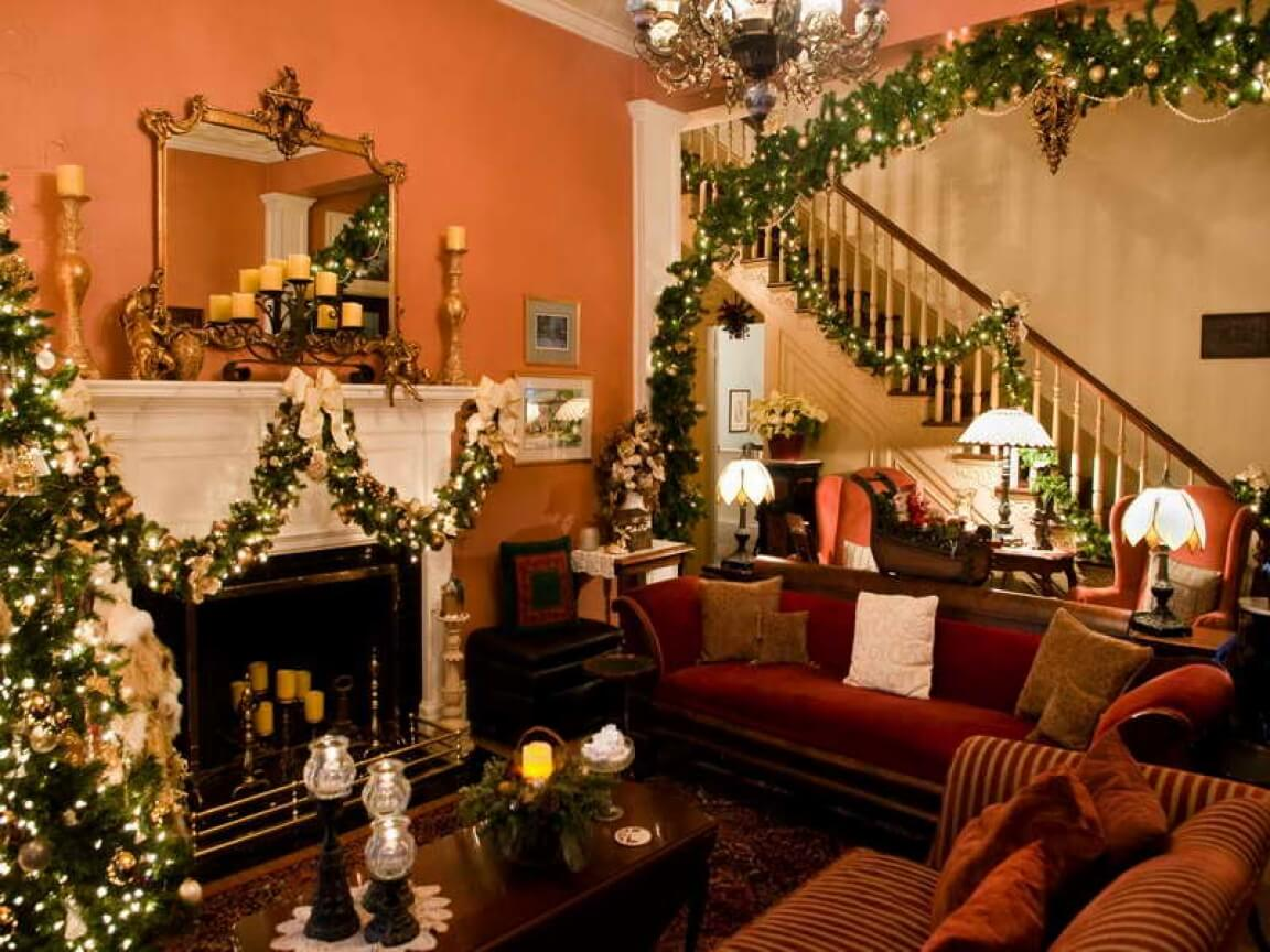 interior christmas tree decoration ideas