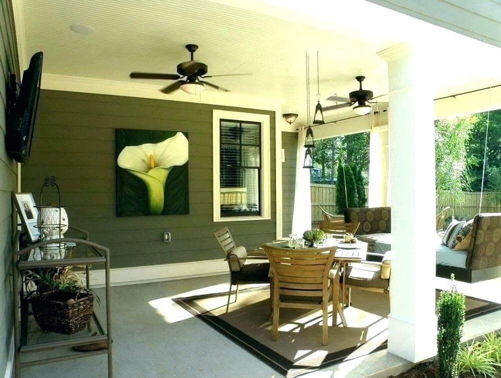 light screen porch ceiling