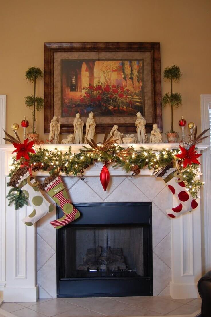 lovely indoor christmas decor ideas