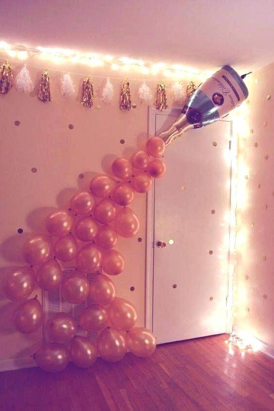 new year ballons decoration ideas