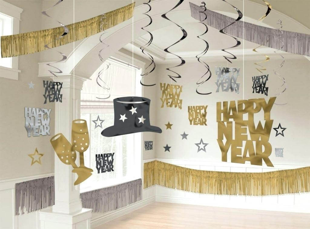 new year party decoration ideas at home