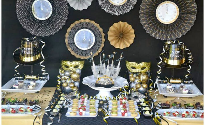 new years eve party ideas at home