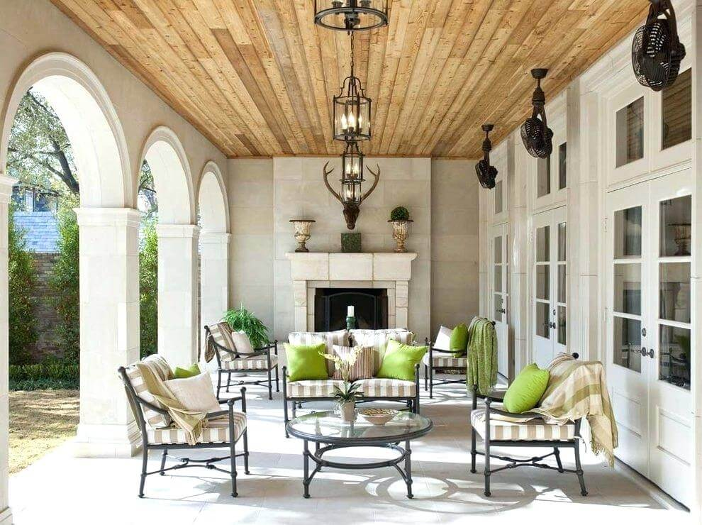 outdoor patio ceiling ideas