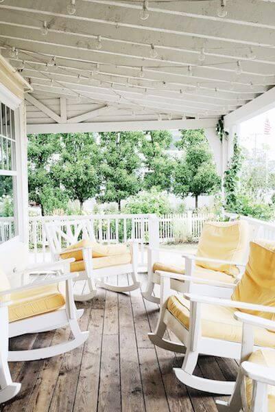 pine vs cedar porch ceiling
