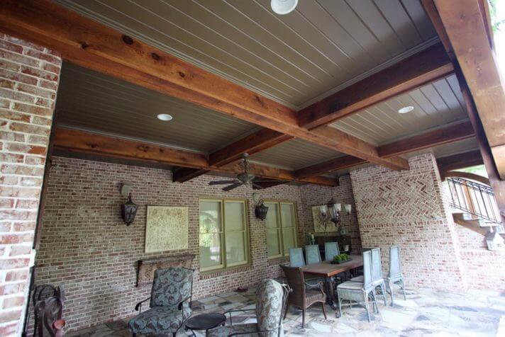 quality edge porch ceiling