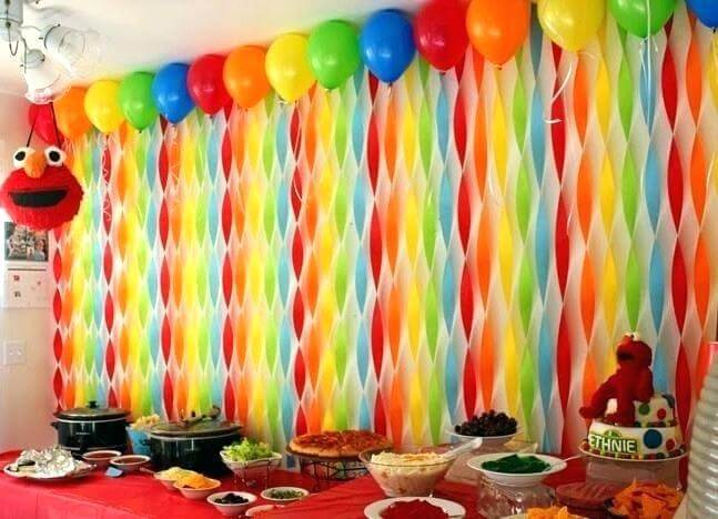 simple birthday decoration at home