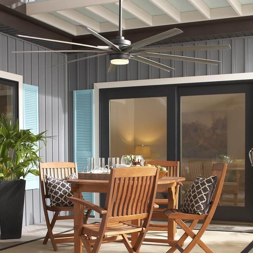 Plywood and Vinyl beadboard porch ceilin