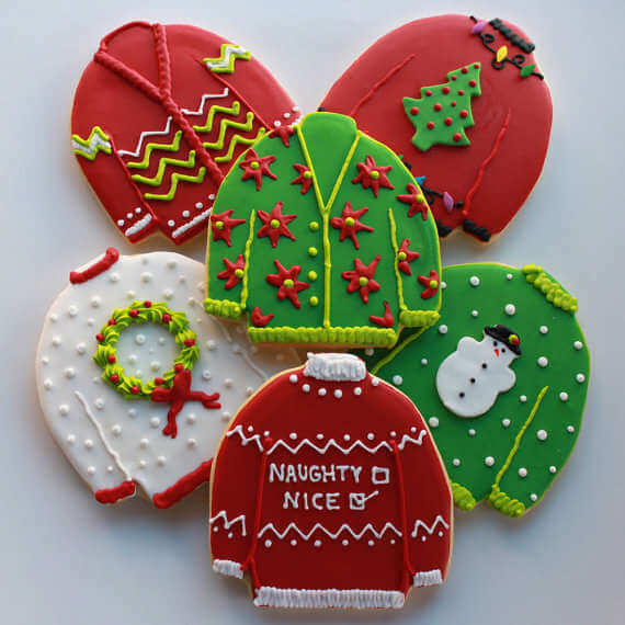 ugly christmas sweater party decoration styles