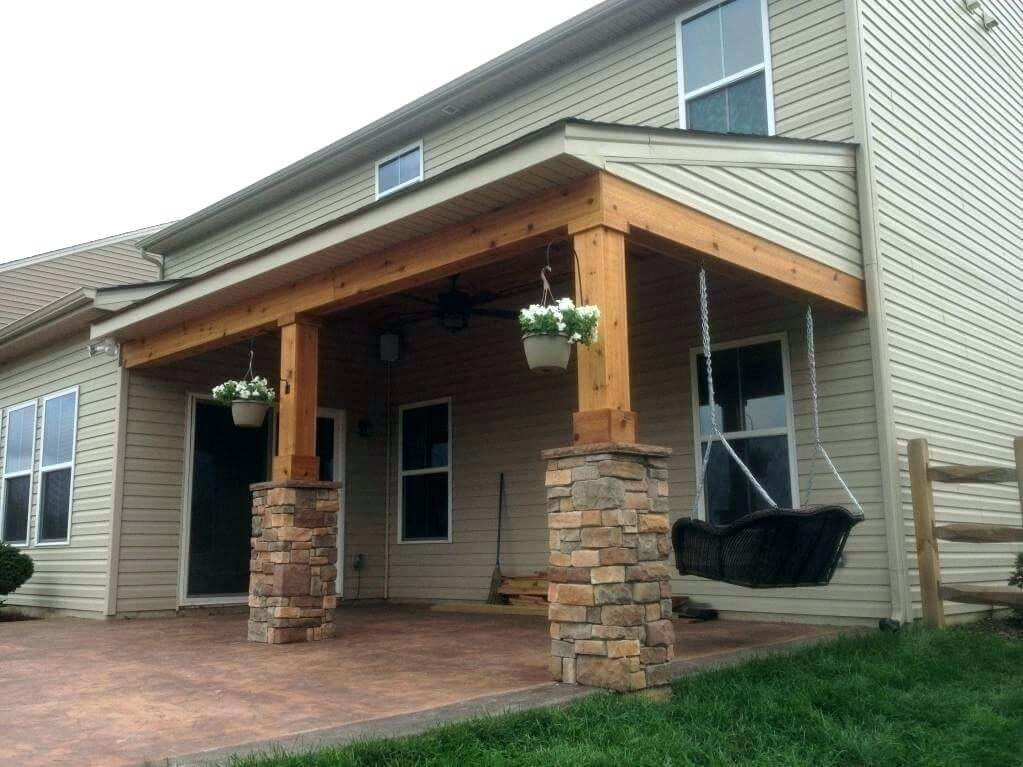 vaulted porch ceiling ideas