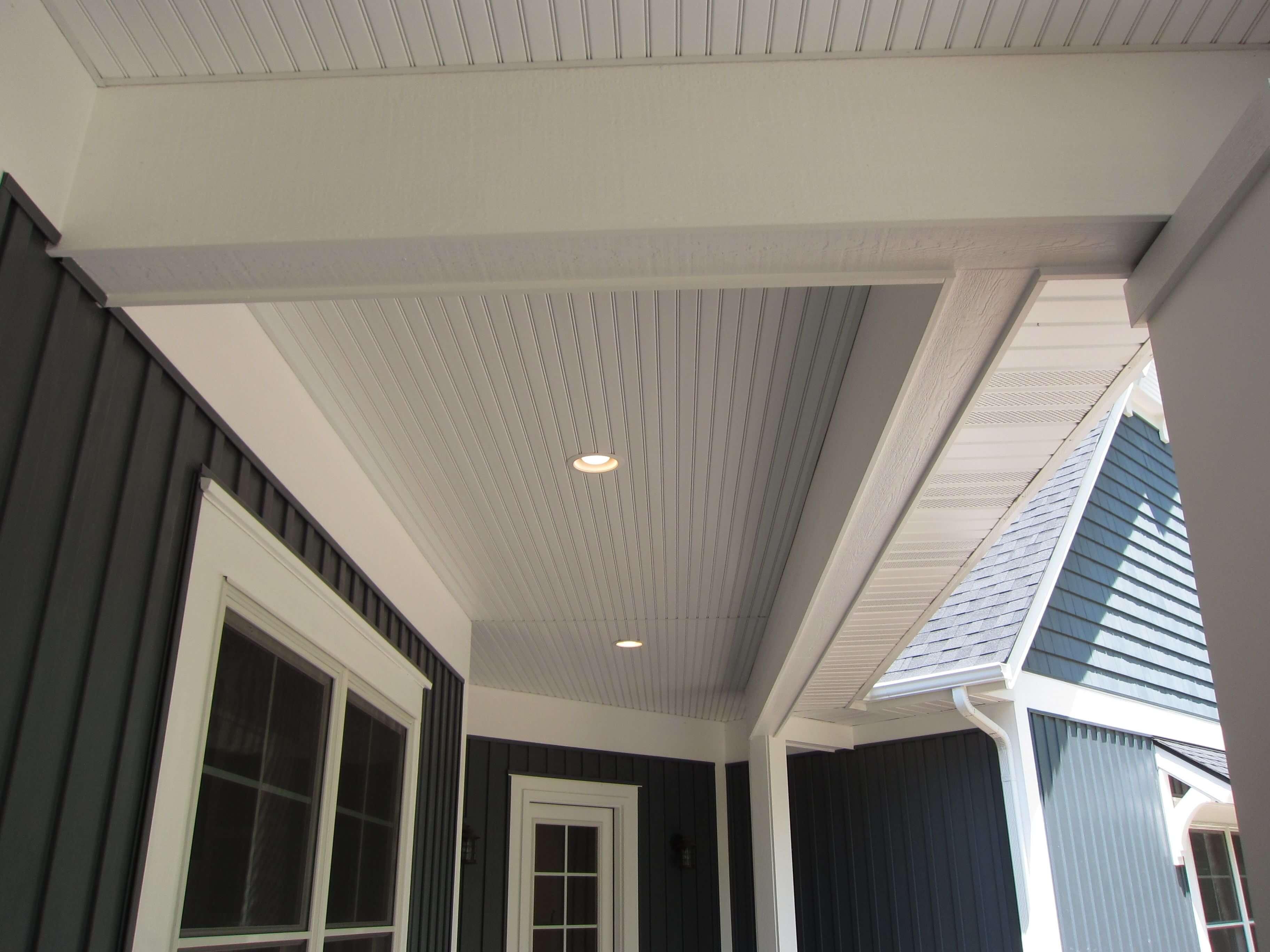 vinyl siding for garage ceiling