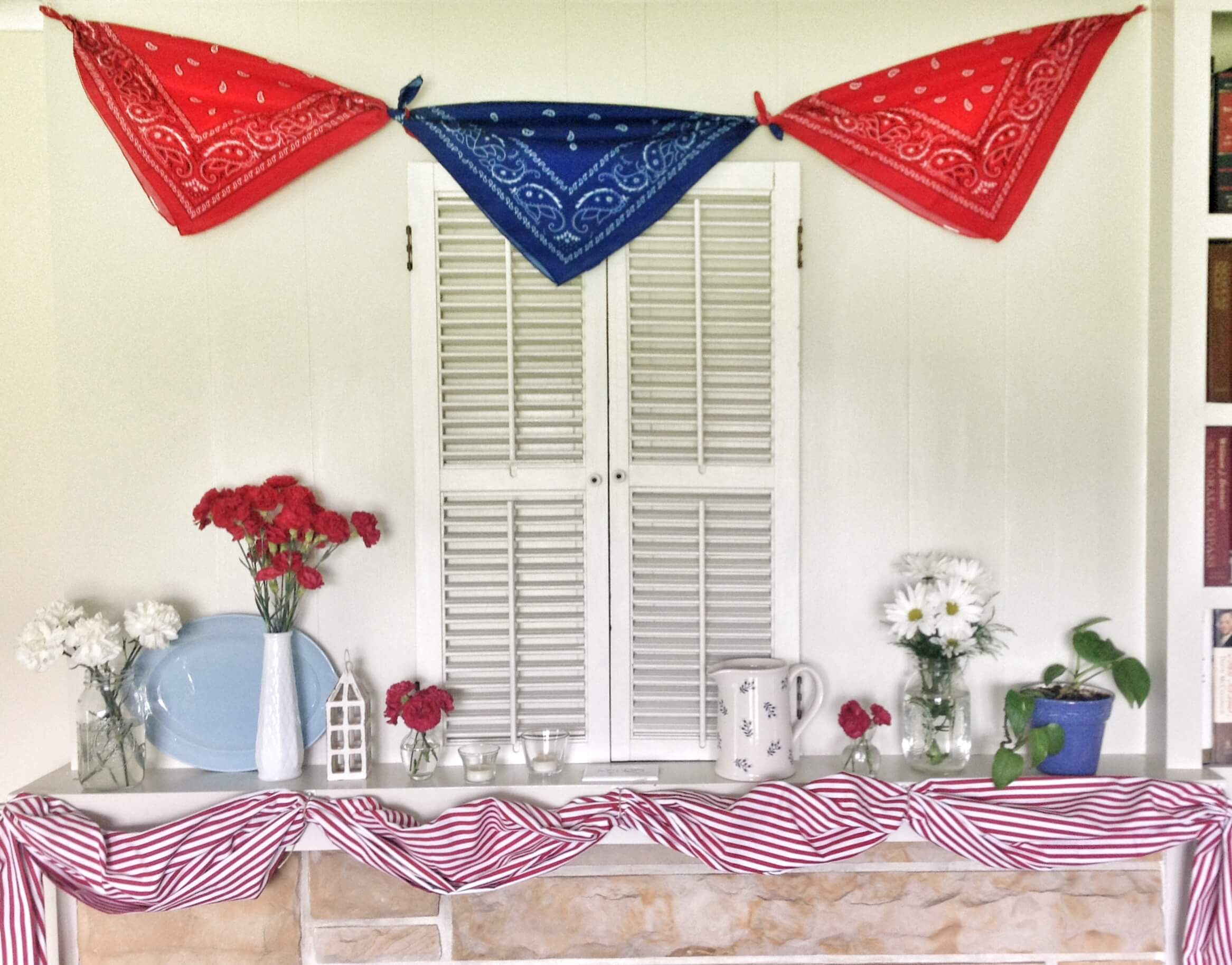 memorial day window painting