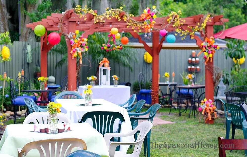 outside home decor ideas for wedding