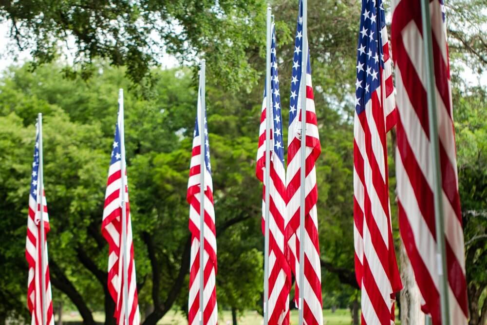 patriotic home decorations
