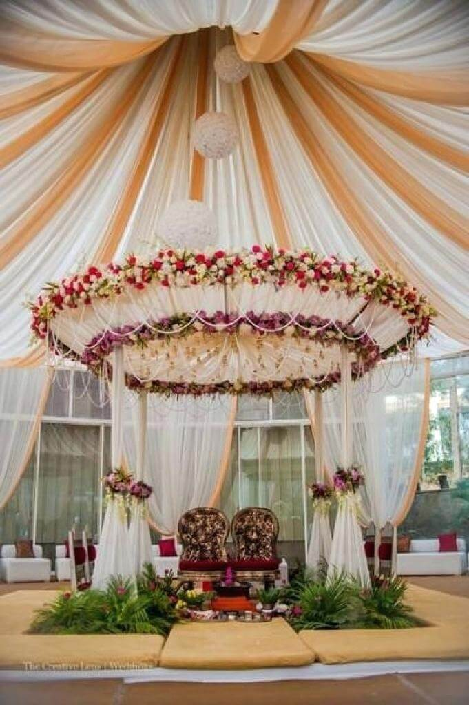 simple and best wedding decoration ideas at home